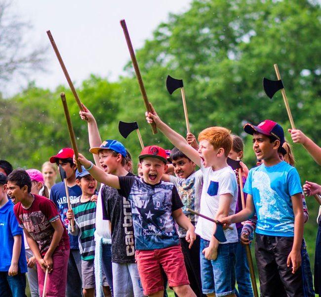 Children at Ufton Court Educational Trust